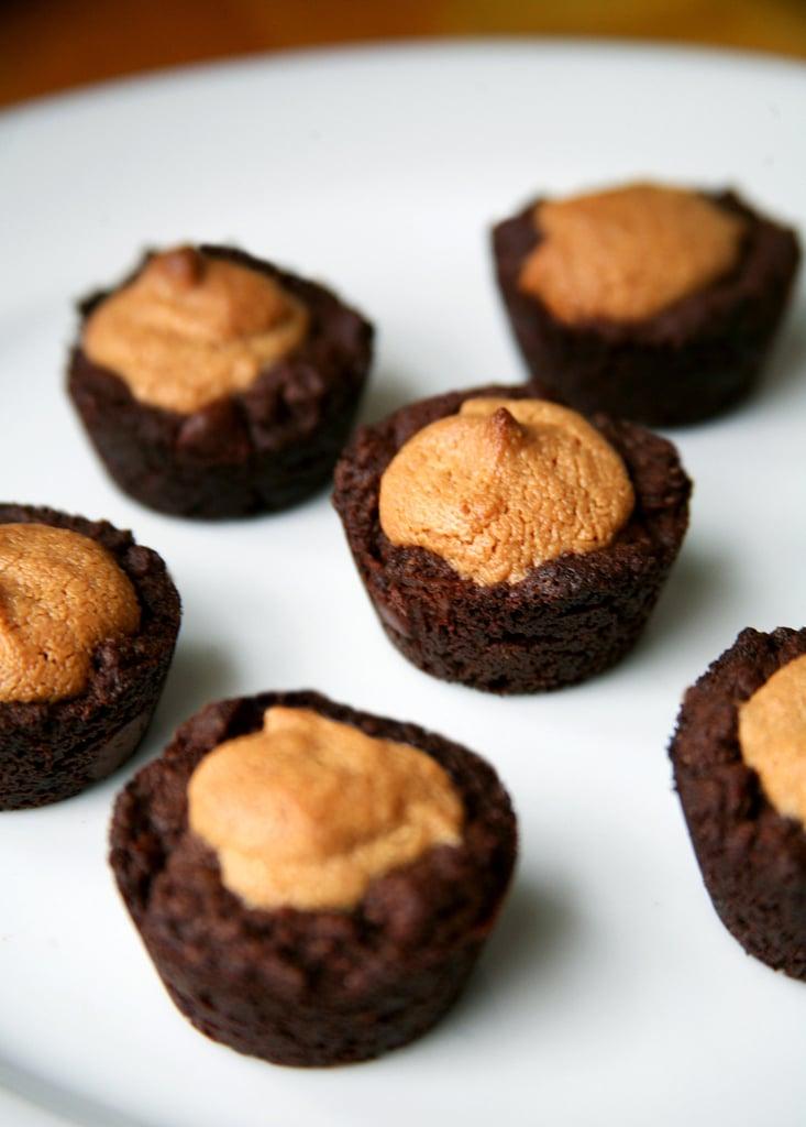 Peanut Butter Brownie Bites