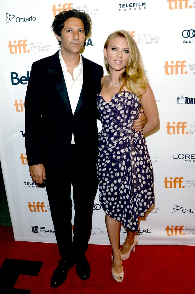Scarlett Johansson walked the red carpet with Jonathan Glazer.