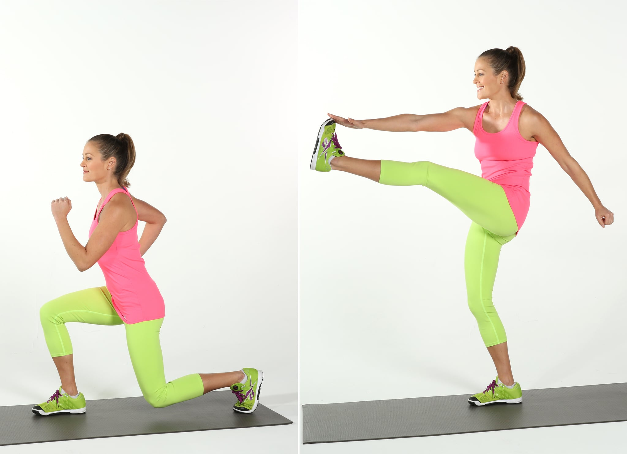Reverse Lunge and Kick