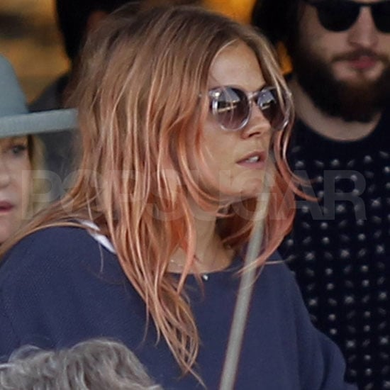 Sienna Miller and Tom Sturridge Pictures Arriving in Ibiza