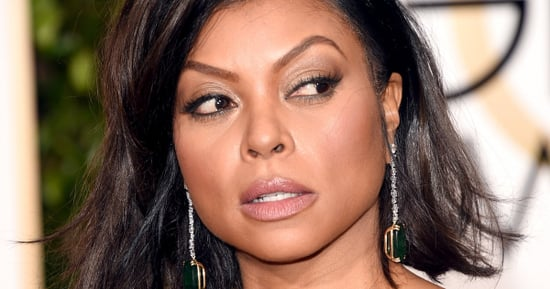 Taraji P. Henson's Golden Globes Dress Is Sexy Without Overdoing It