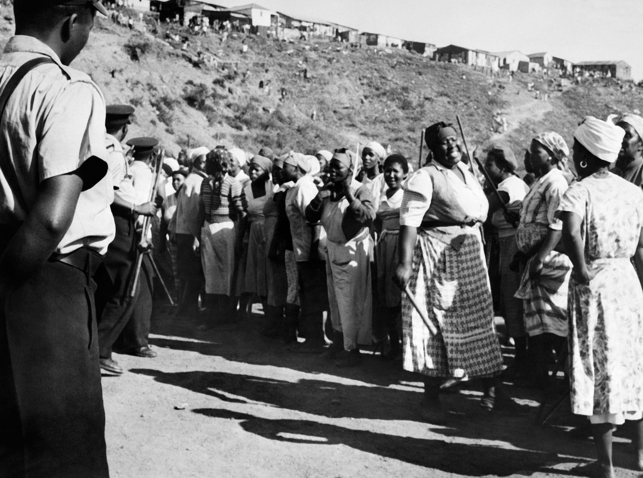 South African Riots, 1959