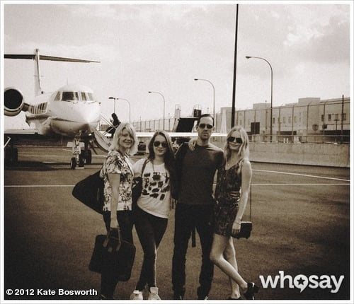 Kate Bosworth and Michael Polish took a trip with his daughter, Jasper, and a family friend. Source: Kate Bosworth on WhoSay
