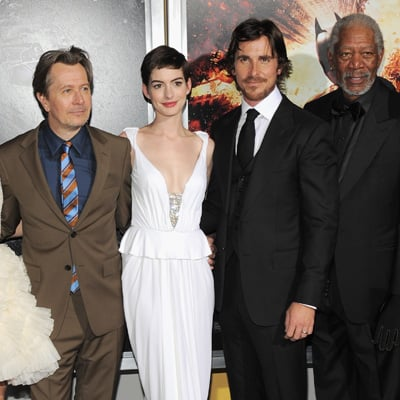The Dark Knight Rises NYC World Premiere Celebrity Pictures