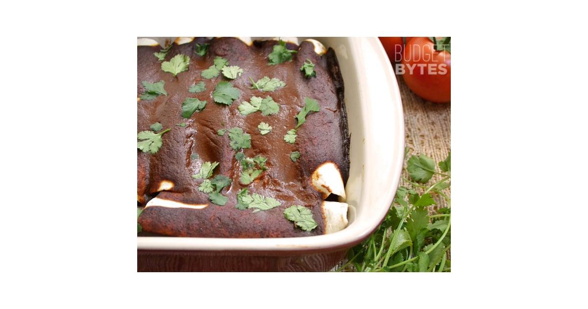 Black Bean and Avocado Enchiladas   Make These 86 Amazing Meals For $5 ...