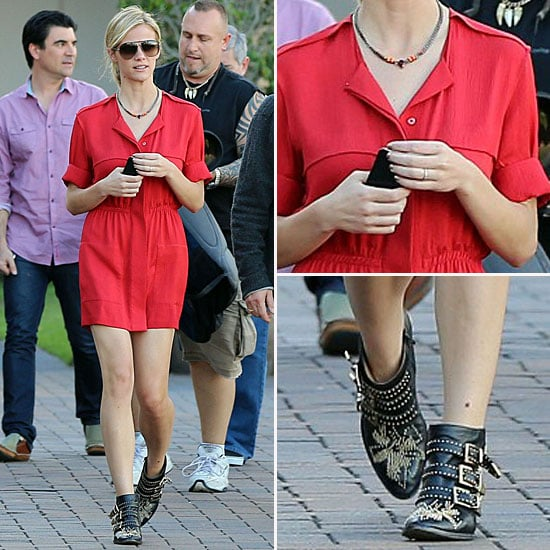 Brooklyn Decker Chloe Boots