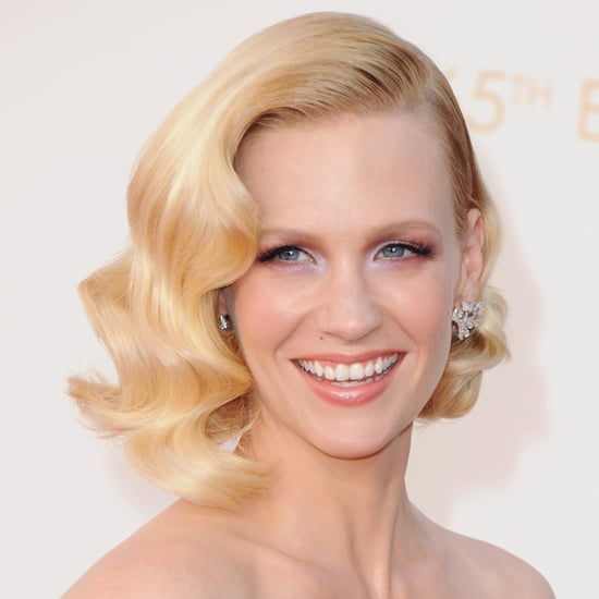 Pictures of January Jones Best Hair and Makeup Looks