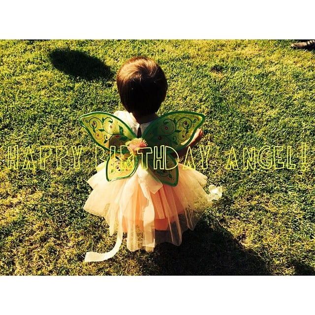 Channing Tatum celebrated his daughter Everly's birthday with this sweet graphic. Source: Instagram user channingtatum