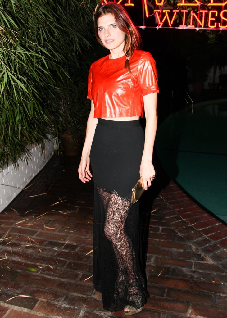 Lake Bell helped launch Saved Wines in an edgy pairing.
