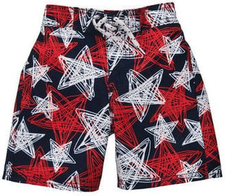 For Little and Big Boys: OshKosh B'Gosh Star Swim Trunks