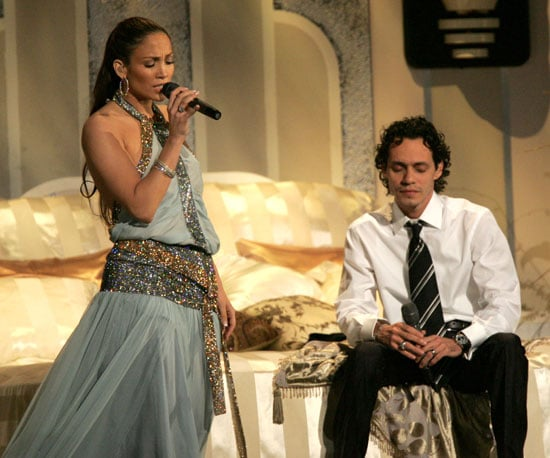 2005's show also included a duet from Jennifer Lopez and Marc Anthony.