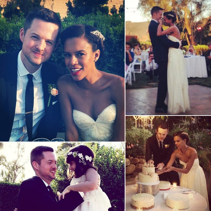 Damien Fahey's Dreamy Wedding Pictures!