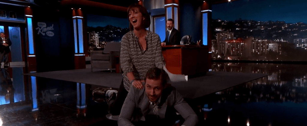 A Lucky Woman Named Karen Got to Straddle Ryan Gosling on the Floor