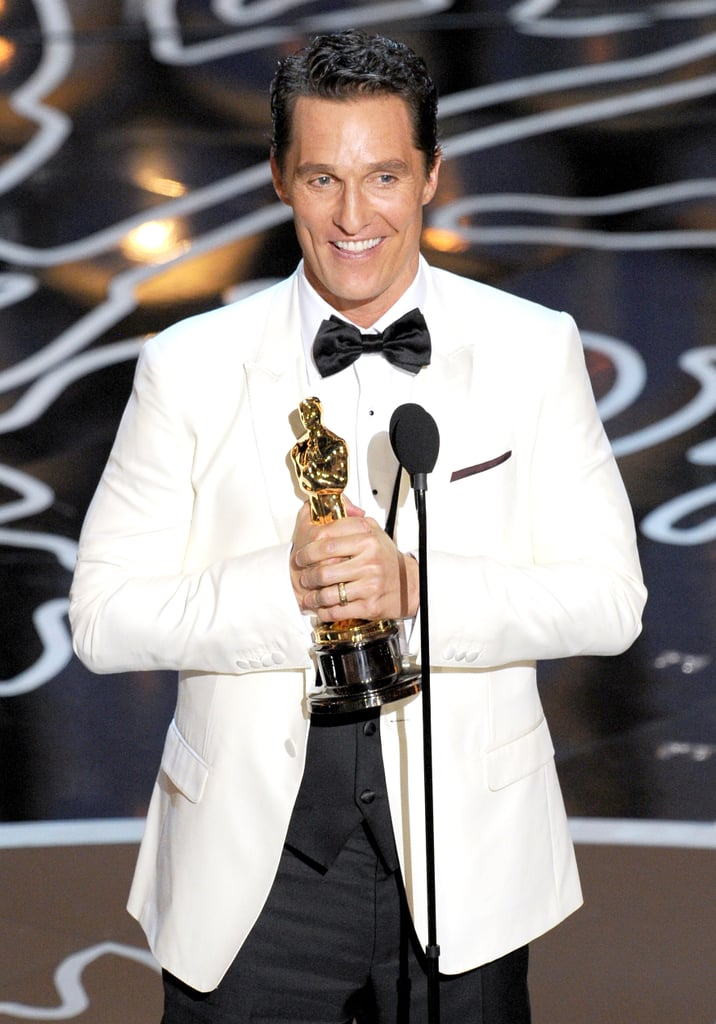 Matthew McConaughey's Speech