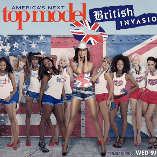 America's Next Top Model British Invasion Cast Pictures