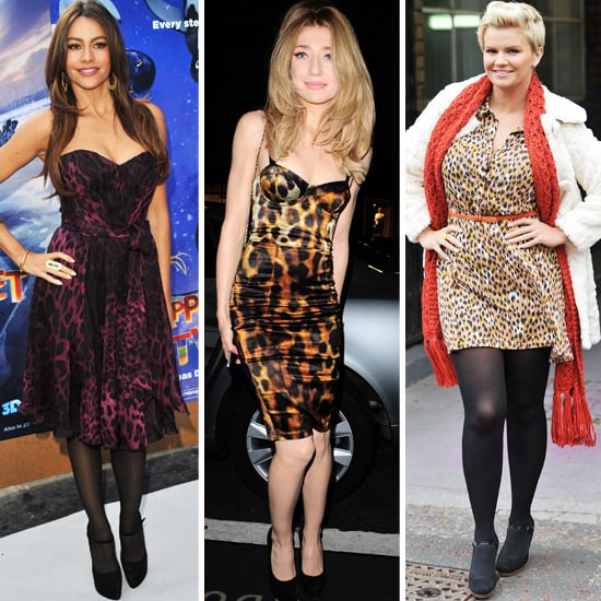 Trendy UK Leopard Print Dresses on Sophia Vergara, Nicola Roberts and Kerry Katonah
