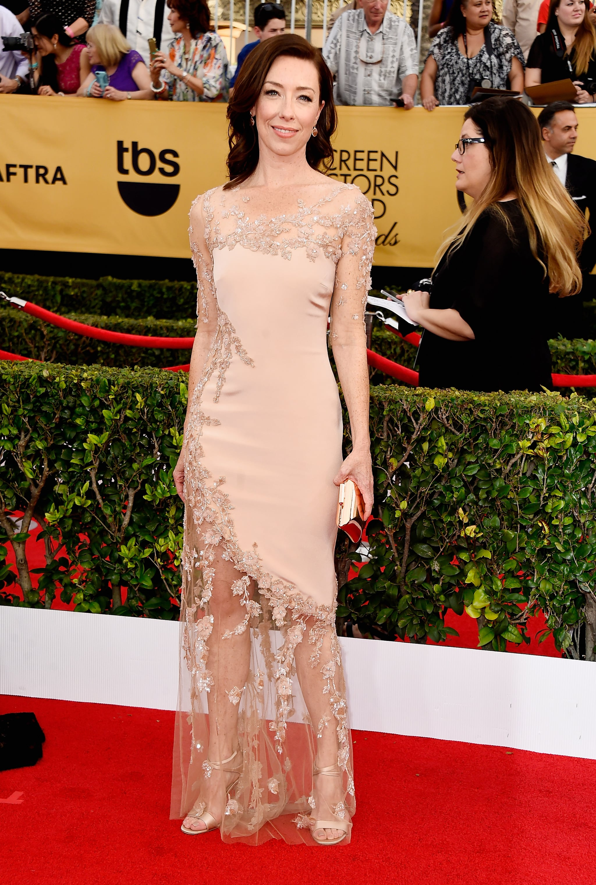 Molly Parker | See All the Stars on the SAG Awards Red ...