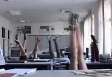Office Synchronized Swimming