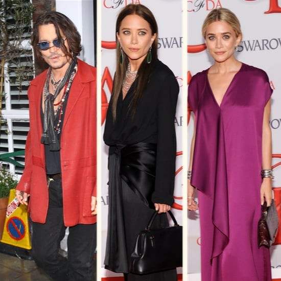 Ashley and Mary-Kate Olsen at 2012 CFDA Awards (Video)