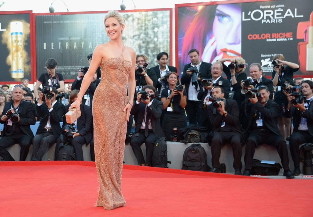 Kate Hudson looked gorgeous at the Venice Film Festival.