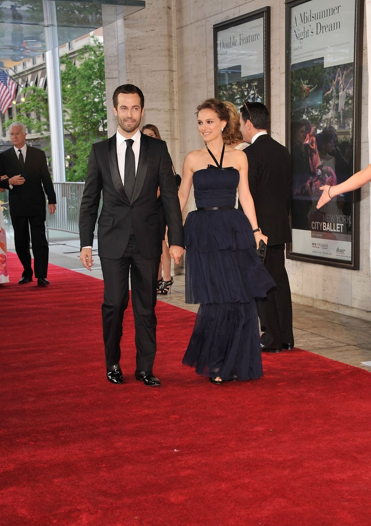 Natalie Portman and Benjamin Millepied arrived on the red carpet at New York City Ballet's 2012 Spring Gala.