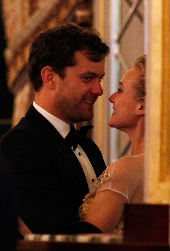 Diane Kruger and Joshua Jackson stole a kiss at the Nights of Monaco gala in May 2012.