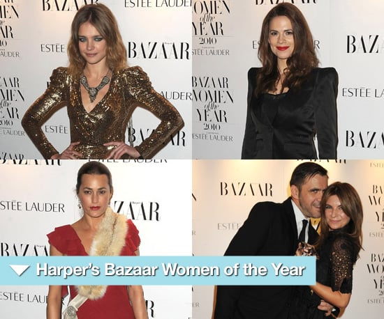 Photos from the 2010 Harper's Bazaar Women of the Year Awards in London