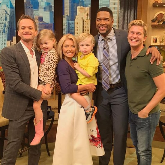 Neil Patrick Harris With His Kids on Kelly and Michael