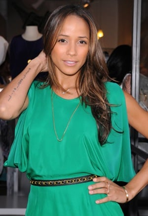 Pictures of Dania Ramirez at Yana K's Spring Mixer Benefit in Green Dress