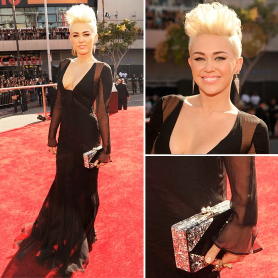 Miley Cyrus at MTV VMAs 2012