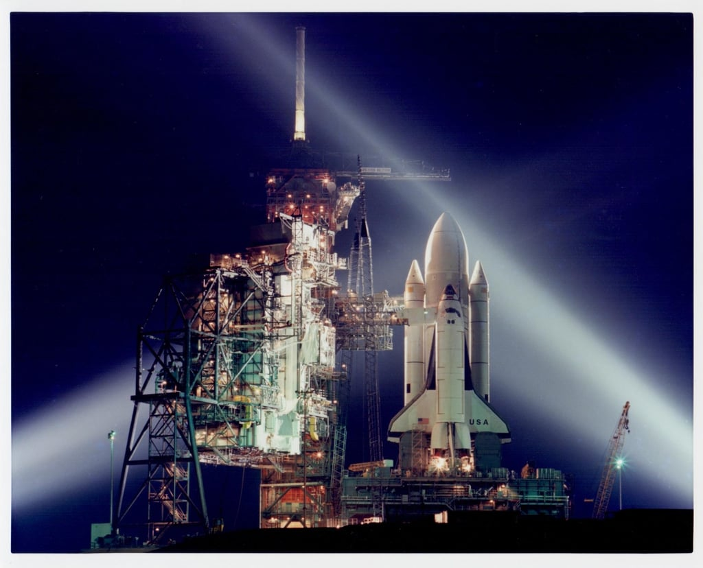 Space Shuttle STS-1 at Kennedy Space Center