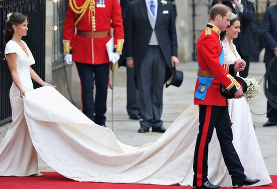 "Kate Middleton's McQueen Gown Deemed a ""Triumph""; Plus, Why Pippa Middleton's Dress Is Causing Controversy"