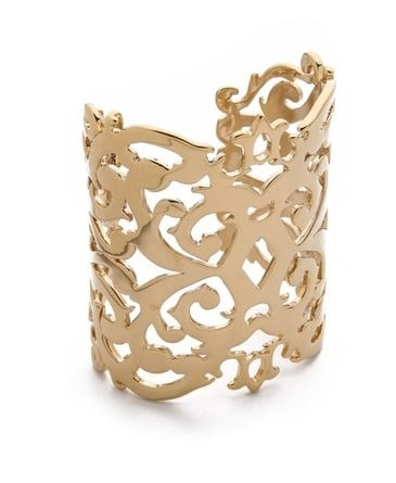 If big bracelets are your thing, this Juicy Couture lace-like cuff ($74, originally $98) is sure to become a quick favorite.