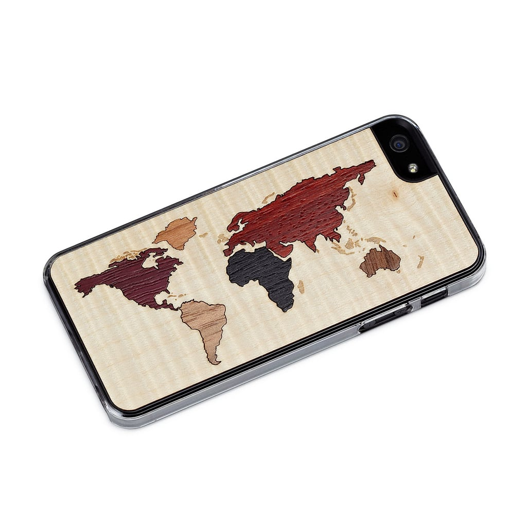 World maps get an upgrade with this cool  iPhone case ($10, originally $31) made from 100 percent natural wood.