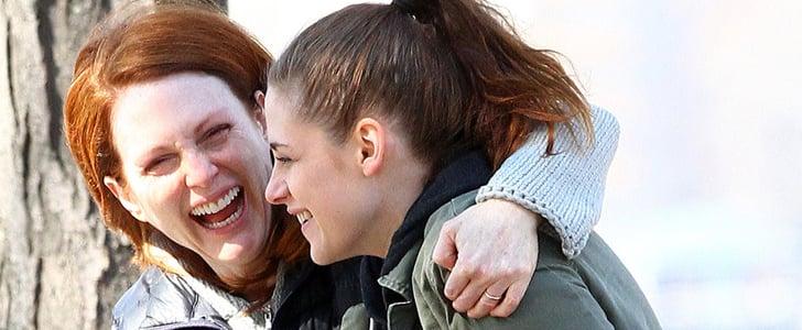 Kristen Stewart Experiences a Full Range of Emotions on Set