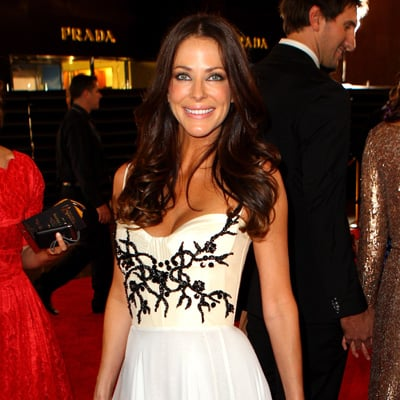 Esther Anderson in Alex Perry Dress at 2012 Logies