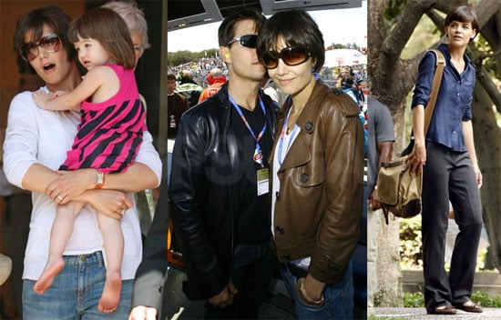 Photos of Suri Cruise, Tom Cruise and Katie Holmes