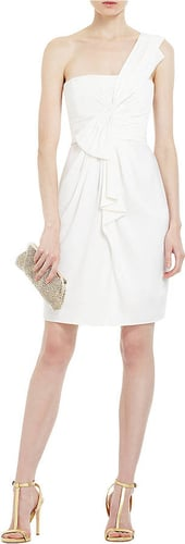 BCBGMAXAZRIA One Shoulder Short Cocktail Dress