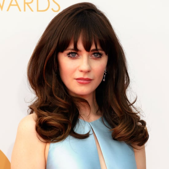 Zooey Deschanel Pictures at 2013 Emmy Awards