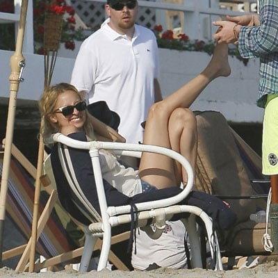 Nicole Richie on 4t of July