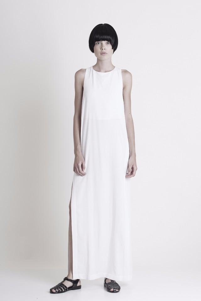 Graffer and Fluf Side Slit Maxi Dress ($242)