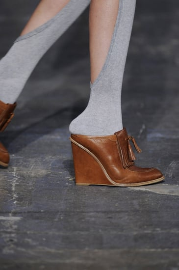 Socks and Shoes on the Catwalk at Spring 2010 Fashion Week