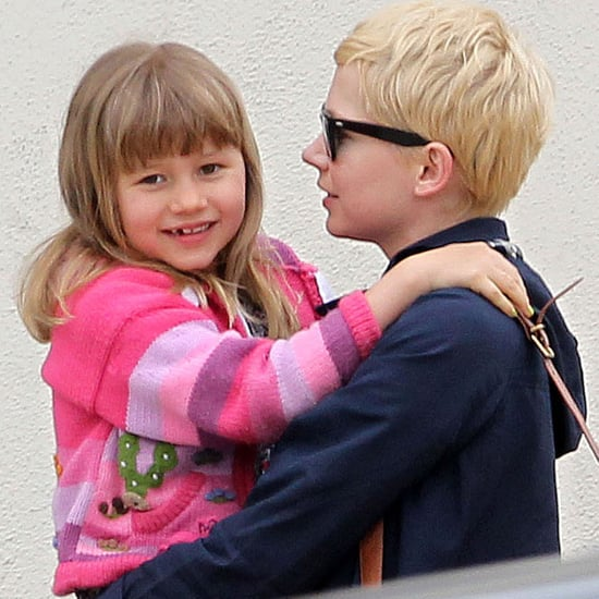 Michelle Williams Carrying Matilda Ledger Pictures