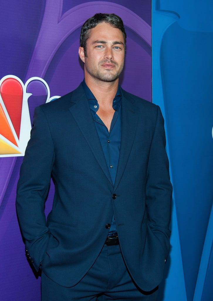 Taylor Kinney showed up at the Summer TCA Press Tour.