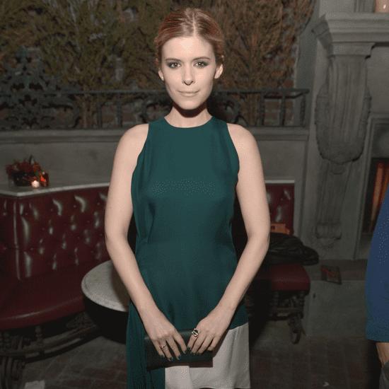 Kate Mara Christian Dior Green Dress Vanity Fair Party