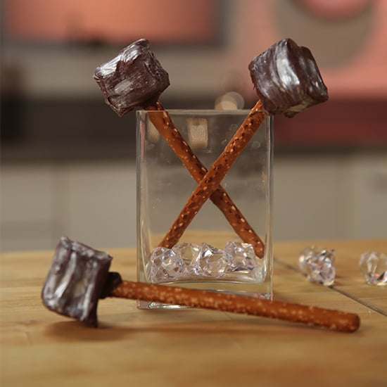 Thor's Mighty Chocolate Pretzel Hammers