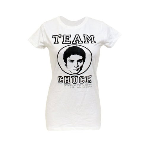 """Team Chuck"" Women's Fitted T-shirt (approx $20)"