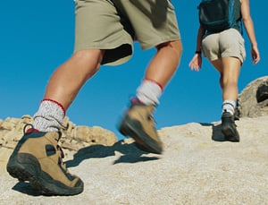 5 Things:  Happy Hiking Feet