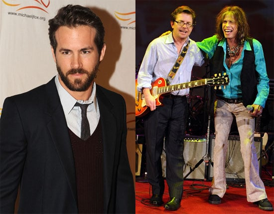 Photos of Ryan Reynolds and Michael J Fox in NYC 2009-11-23 14:00:25
