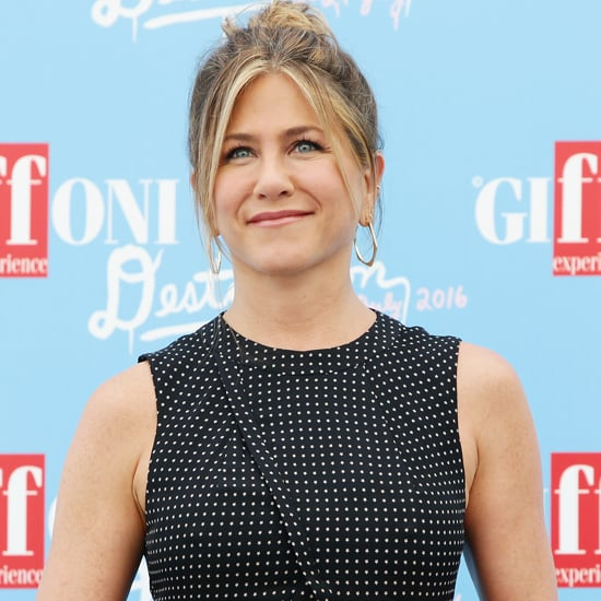 Jennifer Aniston Tibi Dress at Giffoni Film Festival 2016